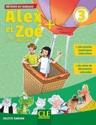 Alex et Zoe Plus 3 podręcznik + CD MP3