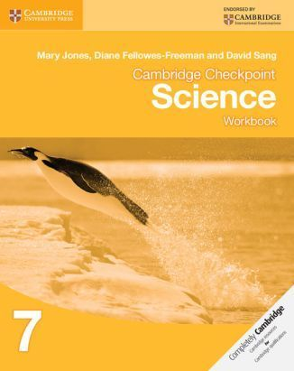 Cambridge Checkpoint Science 7. Workbook
