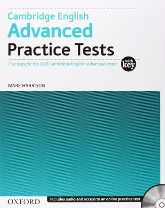 Cambridge English Advanced Practice Tests with key with Online Pract.