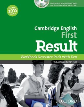 Cambridge English First Result 2015 Workbook Resource Pack with key +CD-Rom
