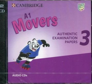 Cambridge English Young Learners 3 A1 Movers Audio CDs