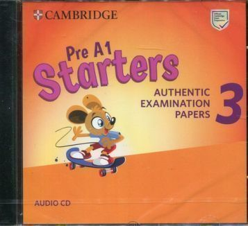 Cambridge English Young Learners 3 Pre A1 Starters Audio CD