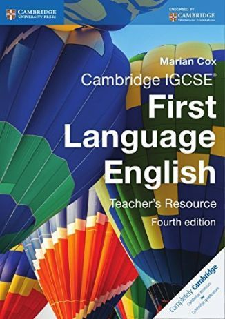Cambridge IGCSE? First Language English 4th ed Teacher Resource Book