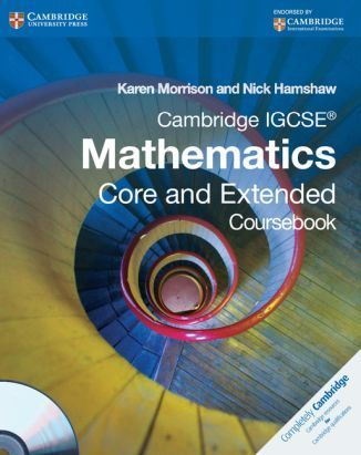 Cambridge IGCSE Mathematics Core and Extended. Coursebook. PB