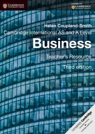 Cambridge International AS and A Level Business 3rd ed Teacher's Resource CD-ROM