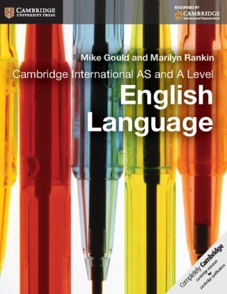Cambridge International AS and A level English Language Coursebook with CD-ROM