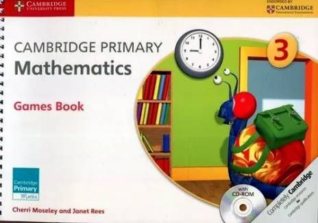 Cambridge Primary Mathematics 3 Games Book with CD-ROM