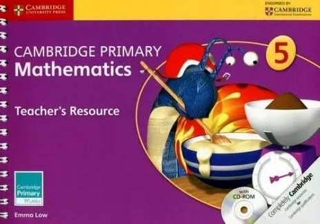 Cambridge Primary Mathematics 5 Teacher's Resource with CD-ROM. PB