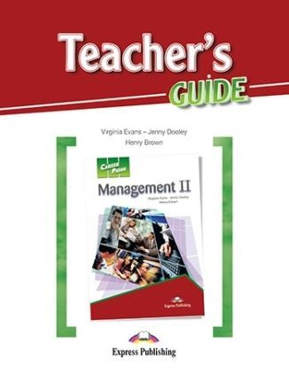 Career Paths. Management II. Teacher's Guide