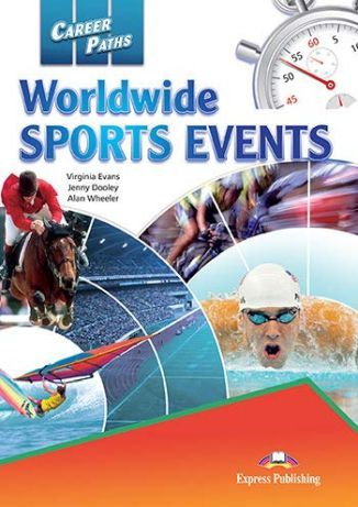 Career Paths. Worldwide Sports Events. Student's Book + kod DigiBook