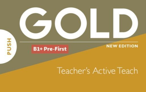 Gold B1+ Pre-First 2018 Teachers Active Teach USB