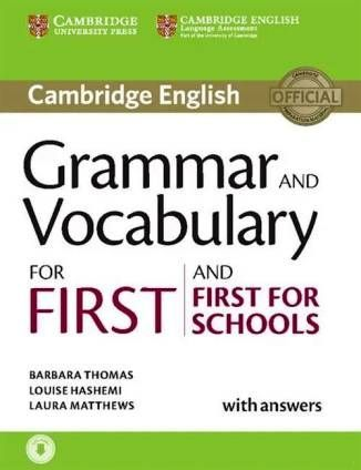Grammar and Vocabulary for First and First for Schools Book w/ans and Audio