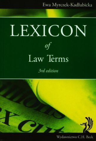Lexicon of Law Terms. 3rd Edition