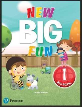 New Big Fun 1 Big Book