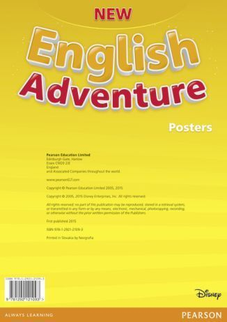 New English Adventure PL 1 Posters