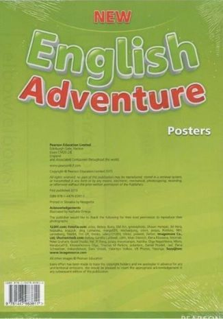 New English Adventure PL 2 Posters