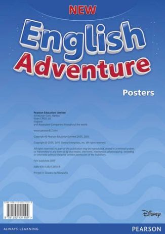New English Adventure PL Starter Posters