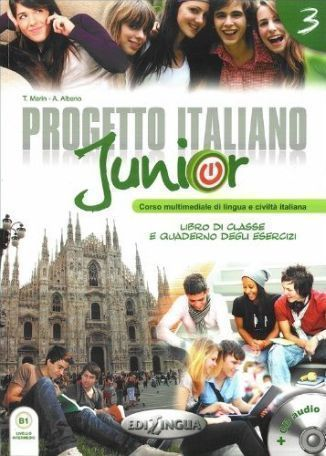 Progetto-italiano-junior-3-podrecznik-cwiczenia-Audio-CD