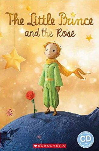 The-Little-Prince-and-The-Rose-Reader-Audio-CD-Poziom-2-