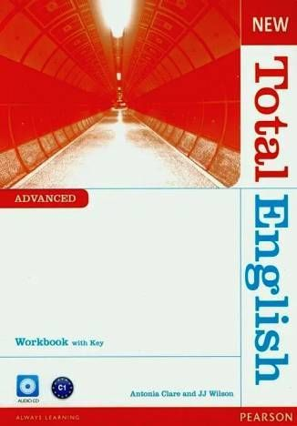 Total English NEW Advanced WB +CD with key