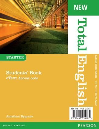 Total English NEW Starter SB eText AccessCodeCard