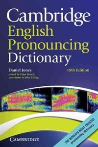 Camb English Pronouncing Dictionary 18ed PB