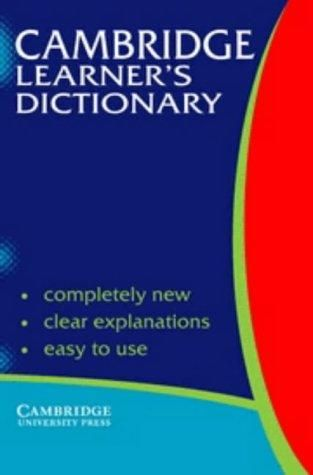 Camb Learner's Dictionary PB