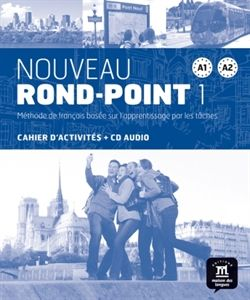 Nouveau-Rond-Point-1-A1-A2-cwiczenia-CD