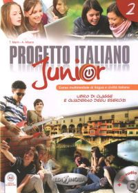 Progetto-italiano-junior-2-podrecznik-cwiczenia-Audio-CD
